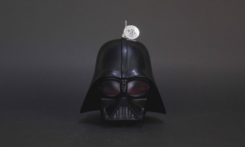 Darth Vader scented candle